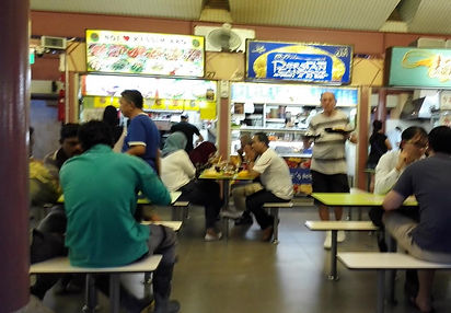 Singapore hawker centre Bedok