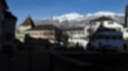 Chur from Hotel Post window