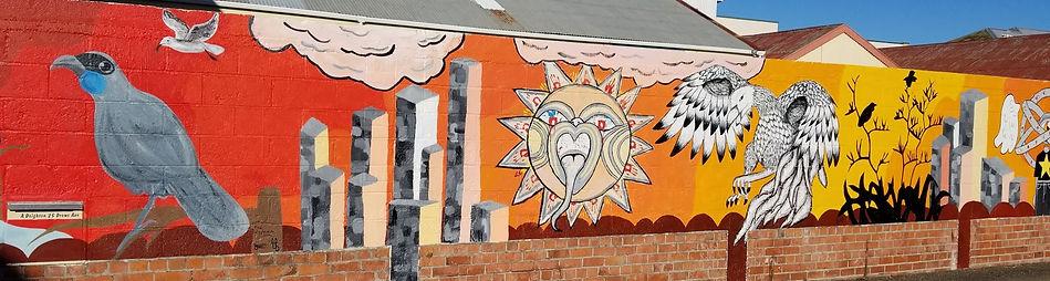YOUTH ART WALL 2021 Whanganui Walls