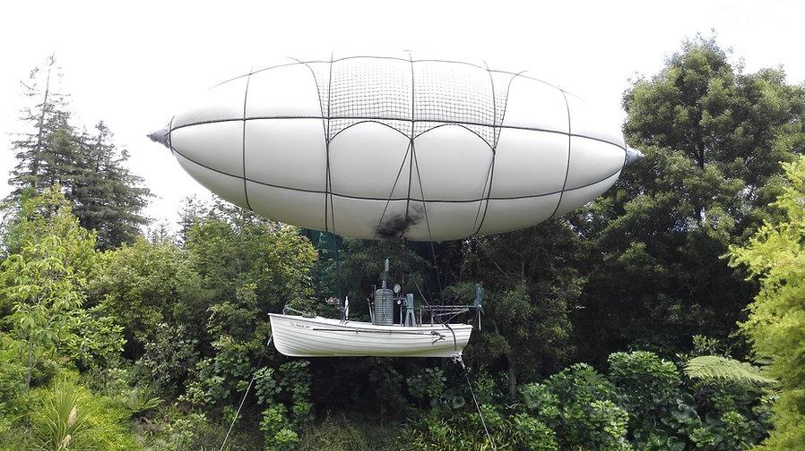 Huddlestone Airship in the Concept Garden