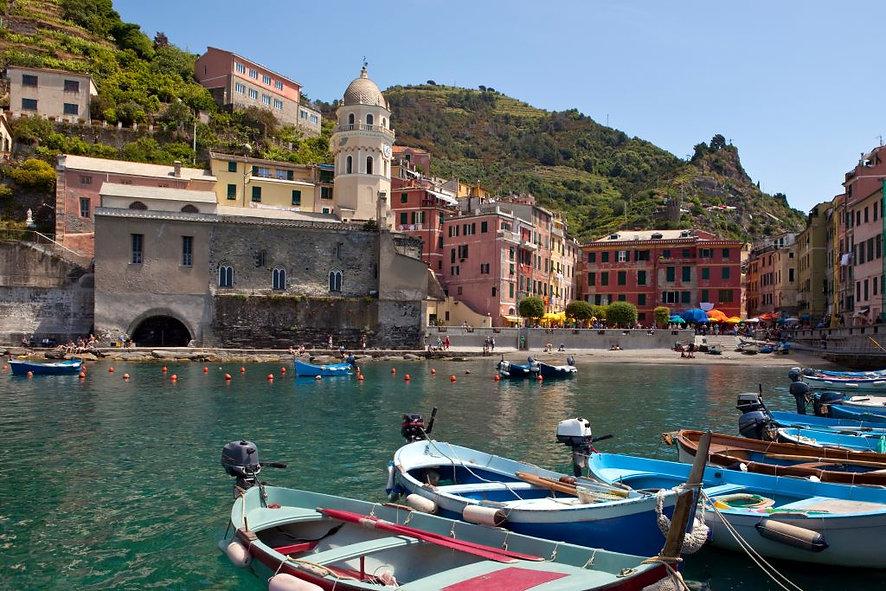 Vernazza harbor Italy