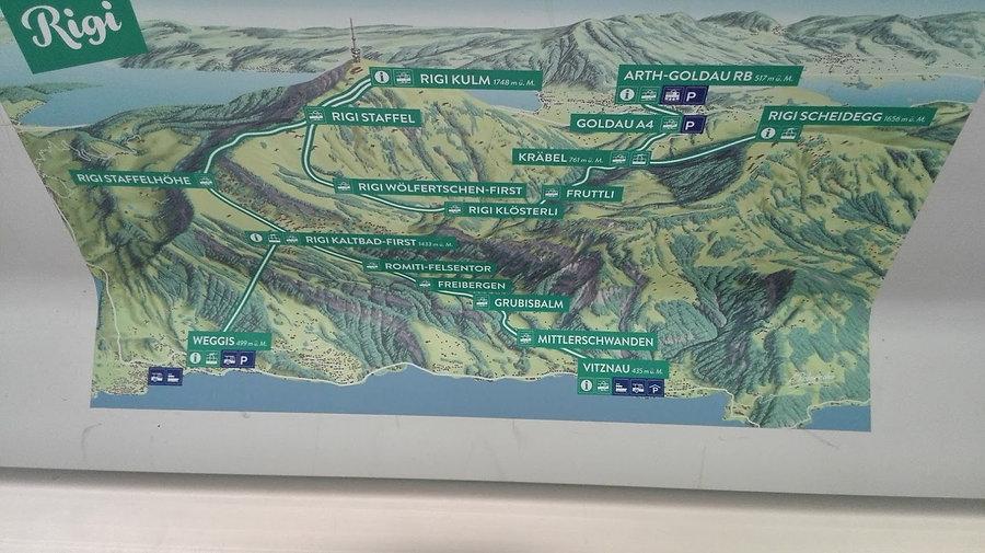 How to get to Rigi Kulm