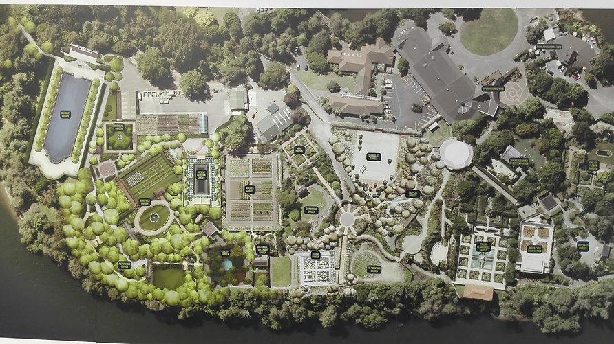 Hamilton Gardens layout
