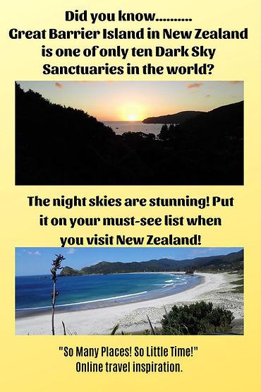 Great Barrier Island Dark Sky Sanctuary