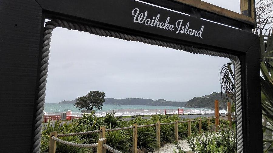 Onetangi Beach, Waiheke Island.