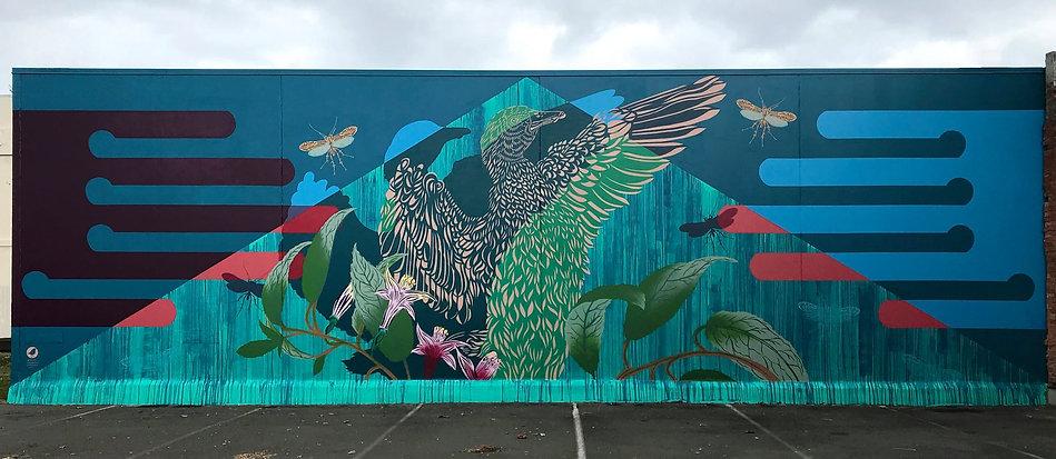 2021 Flox street art