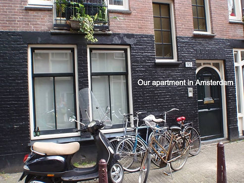 Our apartment in Amsterdam