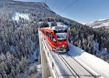 Langweiser Viaduct on Arosa rail trip