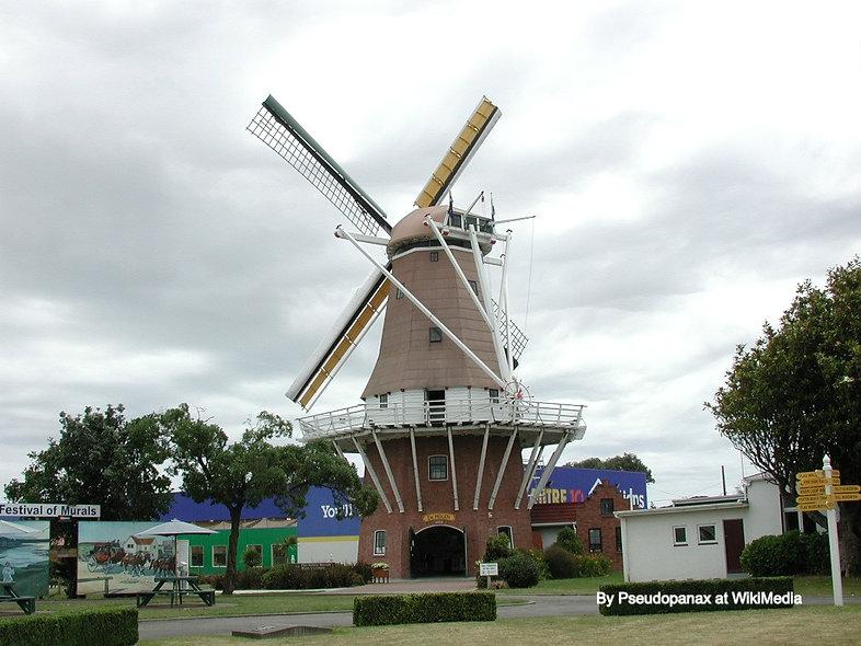 Foxton De Molen Windmill By Pseudopanax