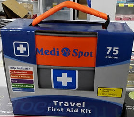 Pre assembled Travel First Aid Travel Kit.