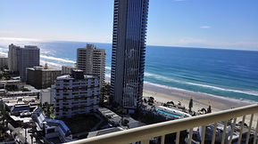 From Novotel, Surfers Paradise