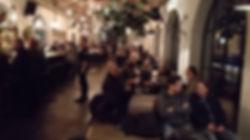 Guterschuppen cafe at Arosa train station
