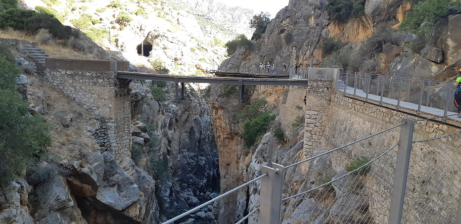 Caminito del Rey in Malaga, Spain
