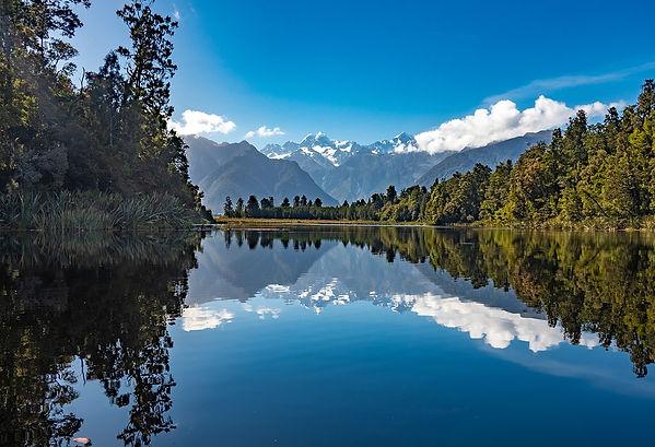 Stunning New Zealand cruise scener