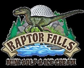 Raptor Falls Mini Golf & Ice cream Logo