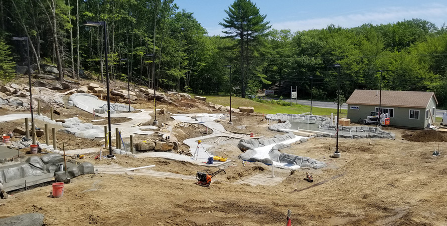There's more work to be done. Castle Golf is working hard. It's starting to come together! 07/25/19