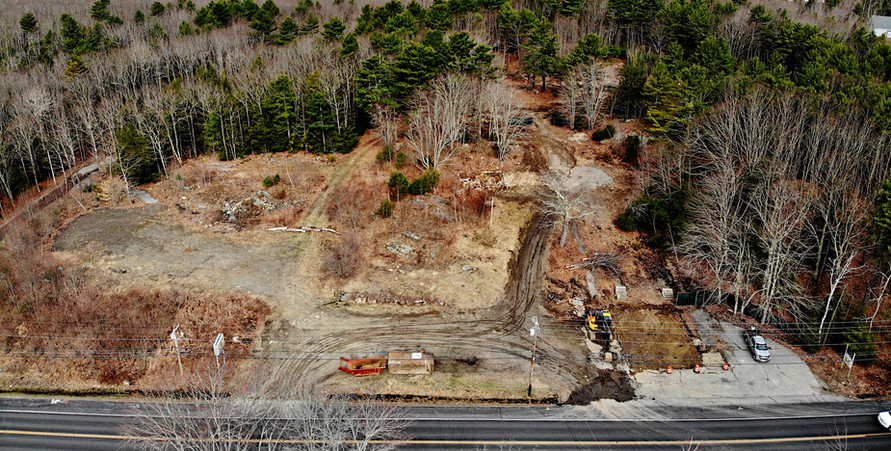 Aerial photo of the property. 4/14/2019