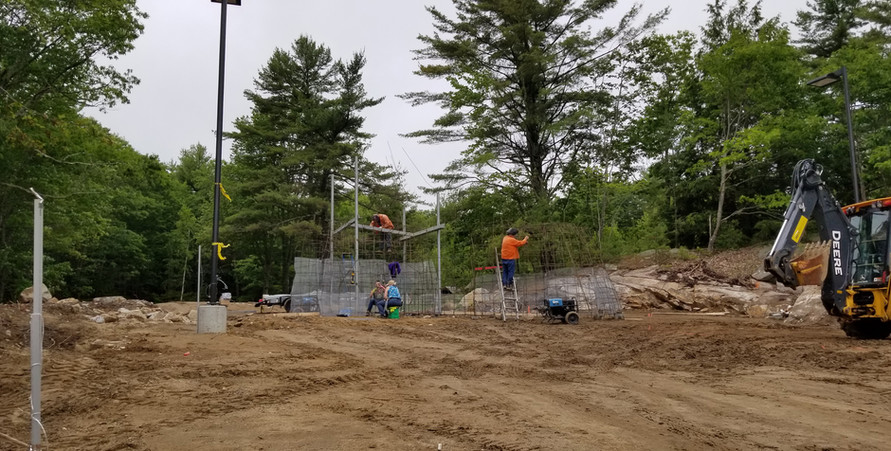 Castle Golf has started on the volcano! 6/27/2019