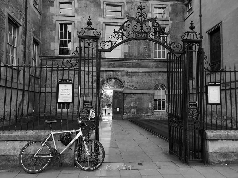 Worcester College in Oxford