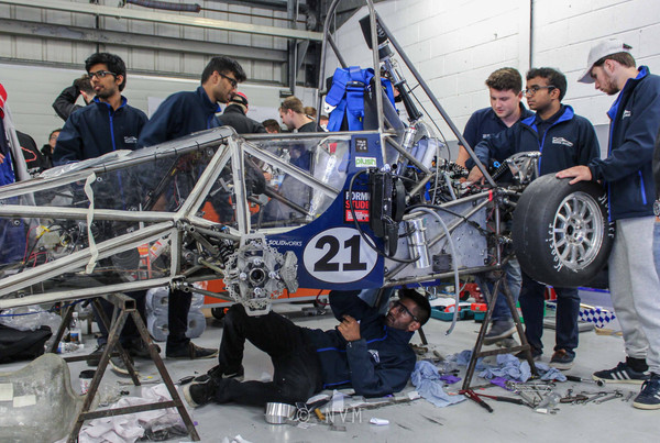 Formula Student Competition at Silverstone Circuit 2017