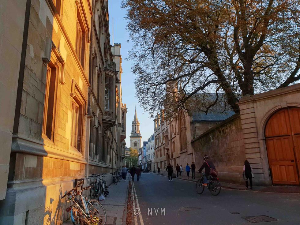Turl Street in Oxford