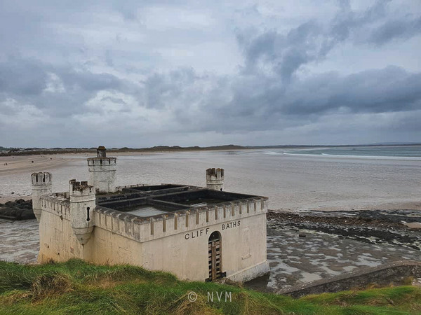 Old Cliff Baths at Enniscrone