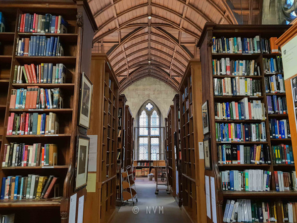 Exeter College Library in Oxford