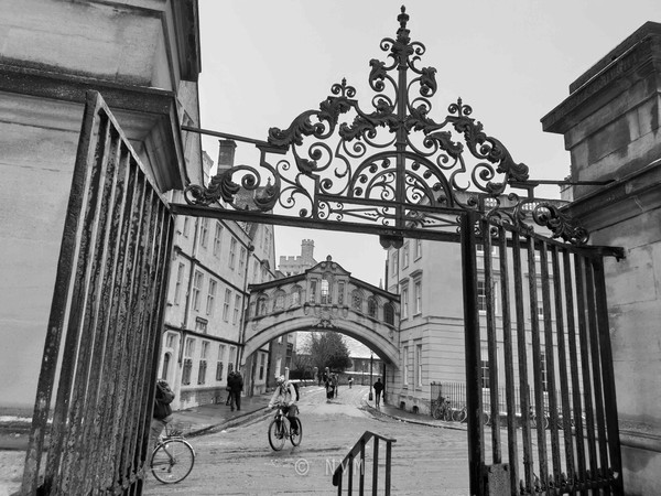 Bridge of Sighs in Oxford