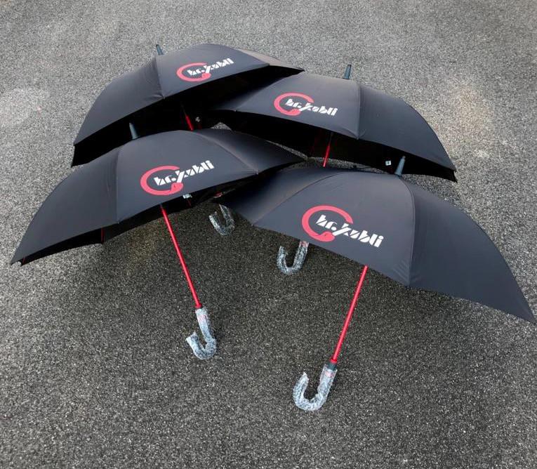 Schirm Werbedruck