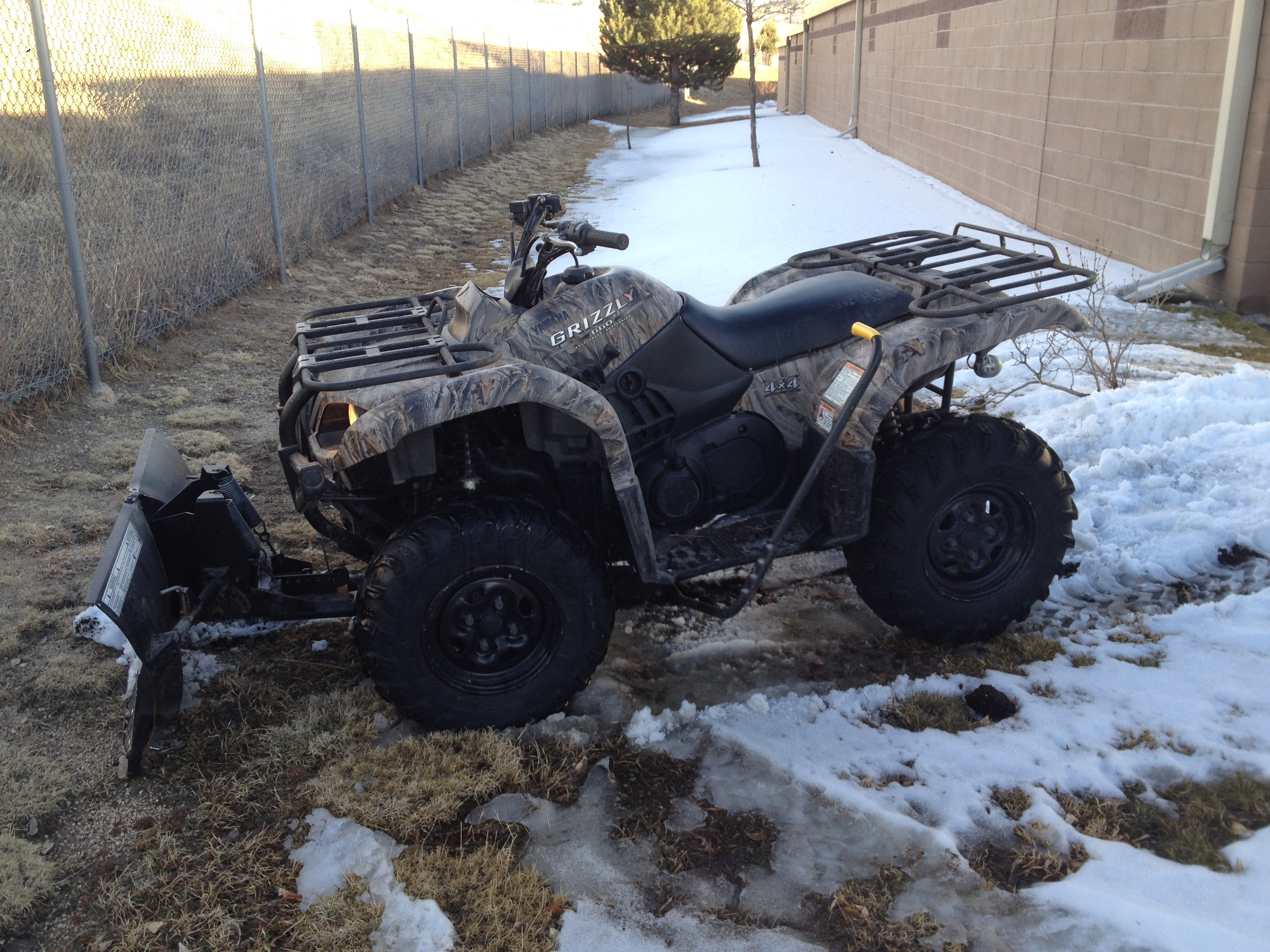 660 Yamaha Grizzly