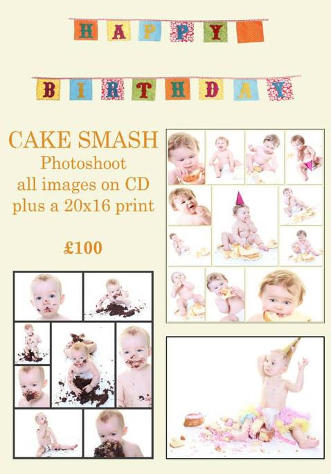 Cake Smash Package
