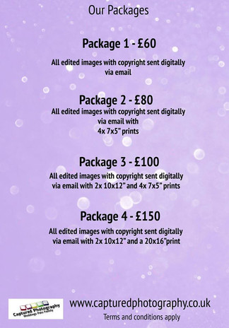 Mobile photography Packages