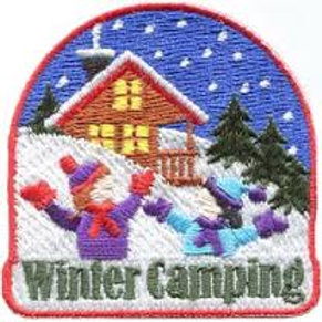 Winter Camping Patch