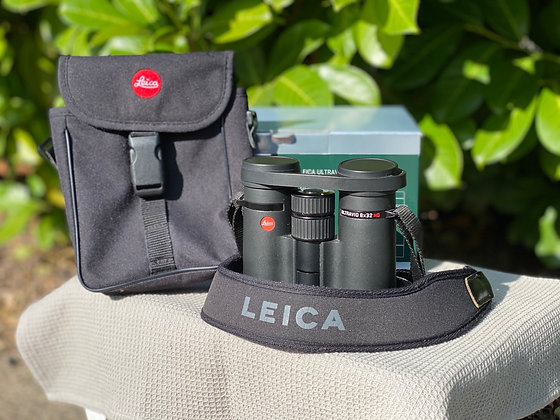 Pre-Loved Leica 8x32 Ultravid HD Plus boxed in excellent condition
