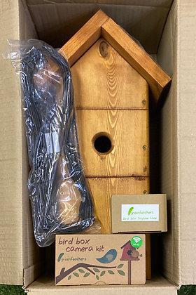 Green Feathers Bird box kit