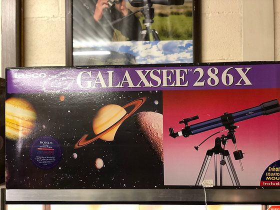 Tasco Galaxsee 286X Astronomical telescope