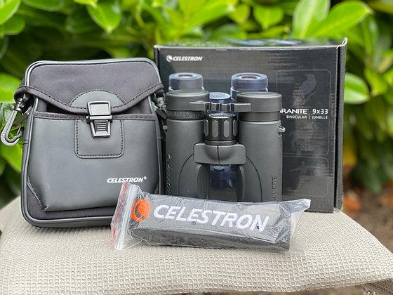 Pre Loved Celestron Granite 9x33 ED Binocular  (Boxed as new) unwanted gift