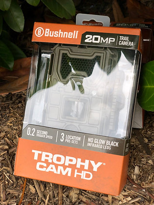 Bushnell Trophy Cam HD 20 mp 0.2 second Trigger speed 3 Location Pre-sets