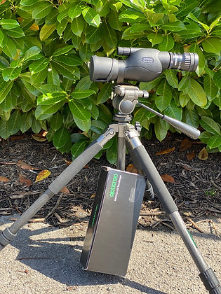 Pre Loved Opticron MM3 50mm ED Straight telescope with HDF Zoom eyepiece