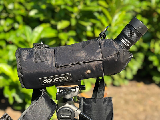 Opticron (used) IS60 telescope with zoom eyepiece and black stay on case