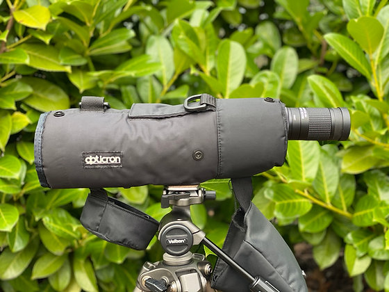 Pre-Loved Opticron Imagic 65mm straight Telescope with HDF Zoom Eyepiece &