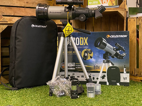 Celestron Travel scope 70DX with accessories