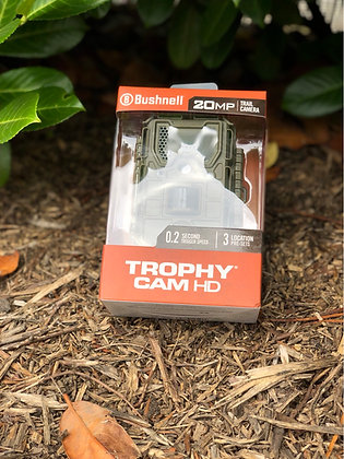Bushnell Trophy Cam HD20mp Trail camera 0.2sec trigger speed, 3 Location preset