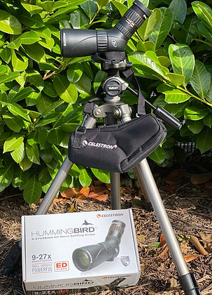 Pre-Loved Celestron Hummingbird9-27x56 ED travel scope including stay on case