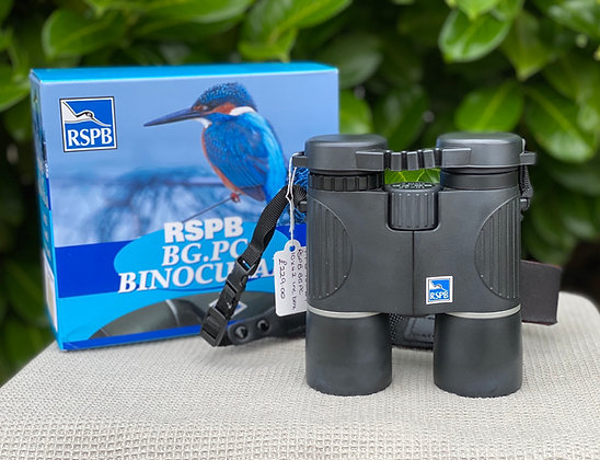Pre-Loved RSPB BG PC 10x42 Binoculars(Boxed in very good condition)