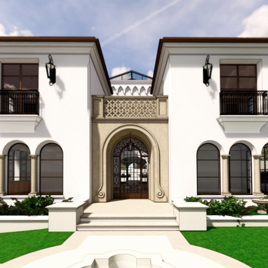 Spanish Residence Front