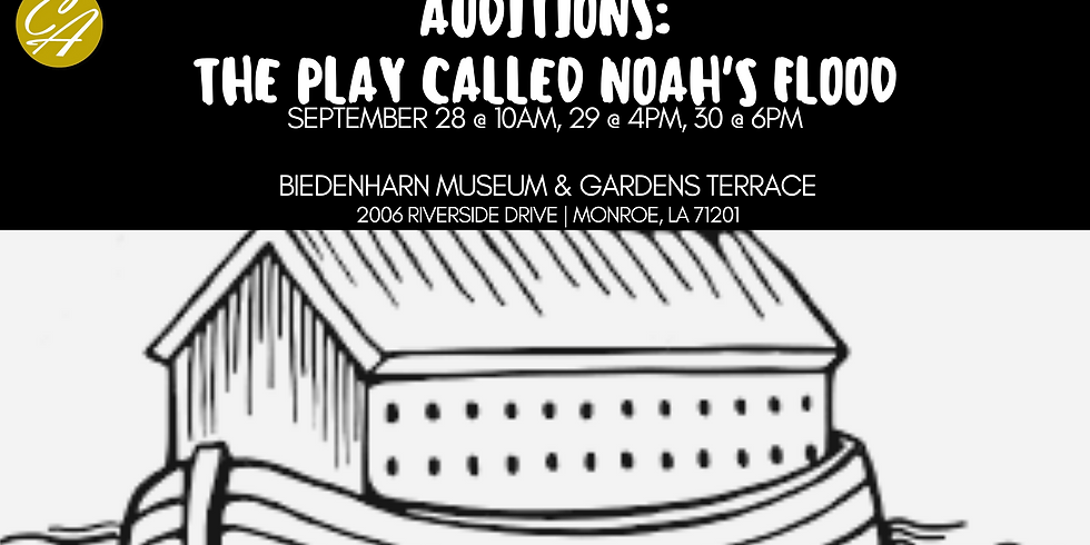 Auditions: The Play Called Noah's Flood