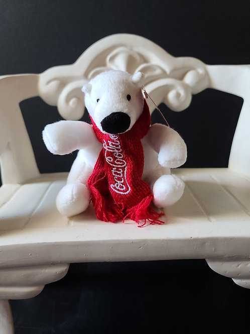 Plush Mini Coca-Cola Bear