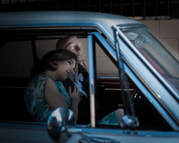 photographer: Brian Joseph model: Jessica Graham & Chester hmua: Brigette Marino