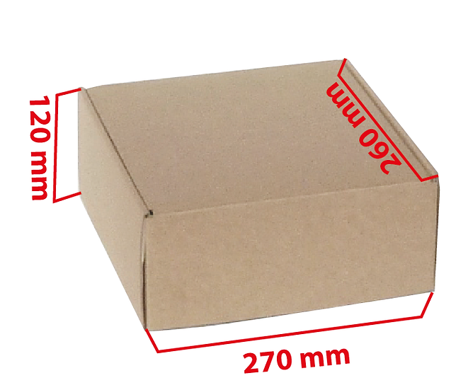 Autoarmable e-commerce L 270x260x120
